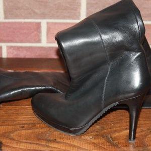 Stuart Weitzman Shoes - Knee High Black Boot Heels